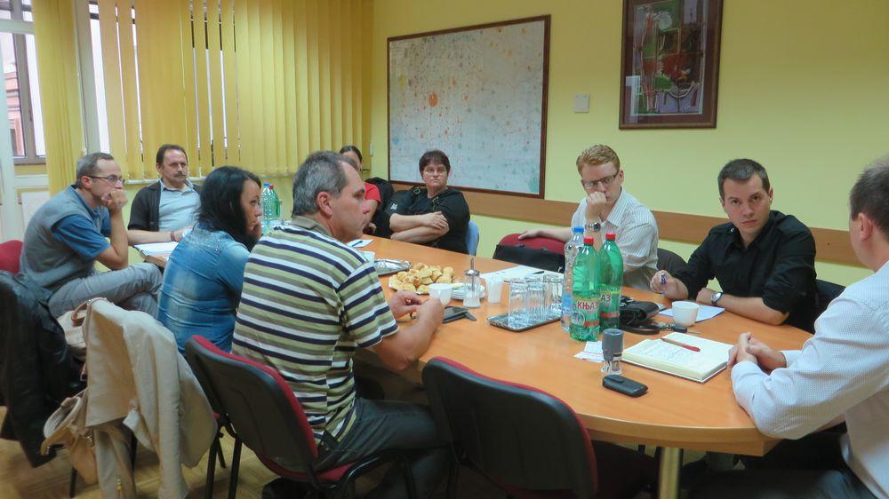 A Civil Központok ülése