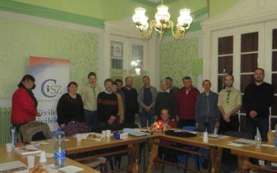 Betlehemi Békeláng átadása a Vajdasági Magyar Civil Szövetség részére